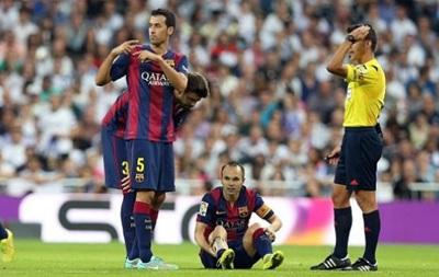 Барселона на месяц потеряла одного из лидеров из-за травмы