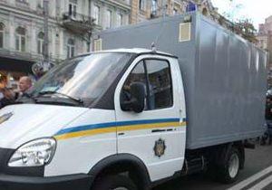 В Киевской области в автозаке обнаружили застреленного милиционера