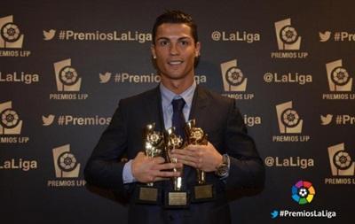 Криштиану Роналду стал лучшим футболистом чемпионата Испании