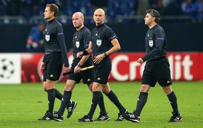 UEFA не разрешил переиграть матч Лиги чемпионов из-за ошибки российского арбитра