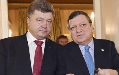 Баррозу пообещал Порошенко 760 миллионов евро помощи до конца года