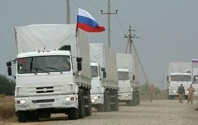 Колонна с российской гуманитарной помощью прибыла в Воронежскую область