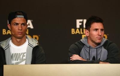 Саленко про Золотой мяч: Претендовать на трофей будут Роналду и Месси