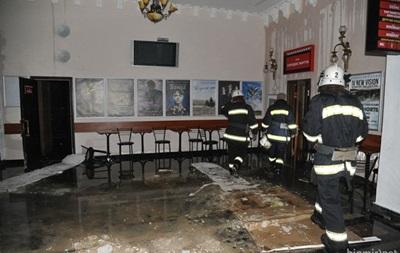 Причины пожара в кинотеатре Жовтень объявят 4 ноября