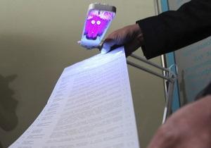 Киевская милиция зафиксировала 21 нарушение избирательного процесса