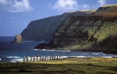 У берегов острова Пасхи в Тихом океане произошло землетрясение