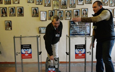 В ДНР и ЛНР открылись избирательные участки