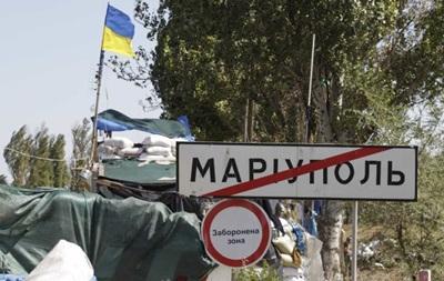 На блокпосту в Мариуполе взорвалось авто, есть раненые