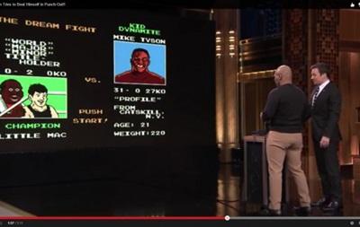 Майк Тайсон сразился со своей виртуальной версией (ВИДЕО)