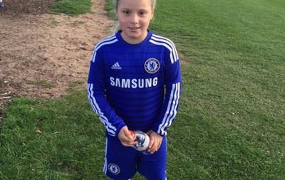 Дочь Джона Терри начала играть за детскую команду Челси
