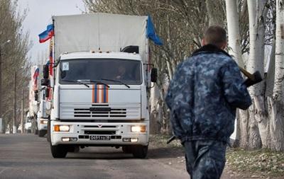 Шестой гуманитарный конвой из России прибыл в Донецк и Луганск