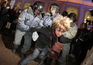 Пресс-секретарь Путина: Несанкционированные акции должны пресекаться