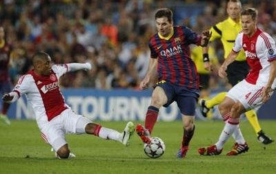 Месси приносит Барселоне победу над Аяксом и путевку в плей-офф Лиги чемпионов