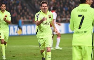 Месси повторил рекорд по количеству голов в Лиге чемпионов
