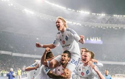 Динамо Киев в меньшинстве добыло победу над Ольборгом