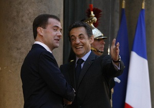 Саркози не исключает, что два корабля Mistral будут построены в России