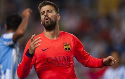 Тренер Барселоны наказал Пике за использование телефона во время матча