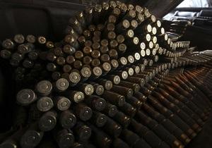 В Крыму милиция обнаружила дома у мужчины арсенал оружия