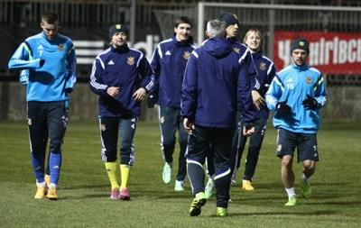 Приступили к работе: Как сборная Украины тренировалась