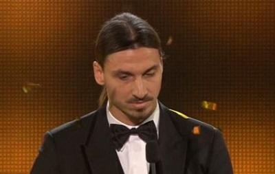 Златан Ибрагимович в девятый раз за 10 лет стал лучшим футболистом Швеции