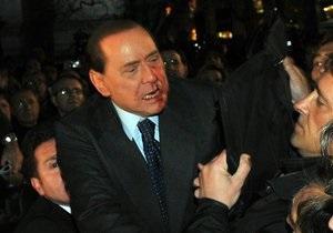 В палату к Берлускони пытался проникнуть неизвестный