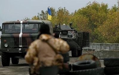Бои на Донбассе: силы АТО потеряли четырех военных, 18 - ранены