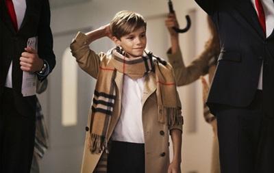 За рекламный ролик сын Бэкхема получил 45 тысяч фунтов гонорара - СМИ