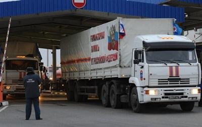 СНБО ничего не известно о содержимом очередного гумконвоя России