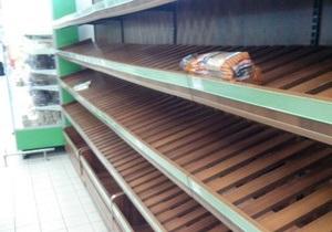 Попов подтвердил, что в Киеве  перебои с поставками хлеба