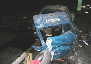 В масштабном ДТП под Житомиром погибли трое граждан Чехии