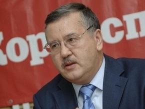 Гриценко призвал Ющенко и Литвина отказаться от участия в выборах