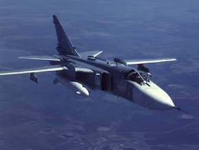 Российский бомбардировщик разбился из-за ошибки пилота