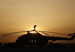 Эксперты: Упавший в марте в России вертолет имитировал отказ двигателя