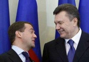 ЗН: Янукович и Медведев подпишут три неанонсированных совместных документа