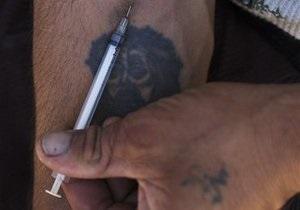 ФСКН: В Москве продолжает расти число наркоманов