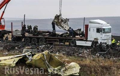 В ДНР говорят, что голландские специалисты уже собрали обломки Боинга