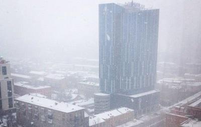 Ура, снег! Киевляне завалили первым снегом соцсети