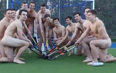 В Англии хоккеисты разделись в знак протеста против гомофобии