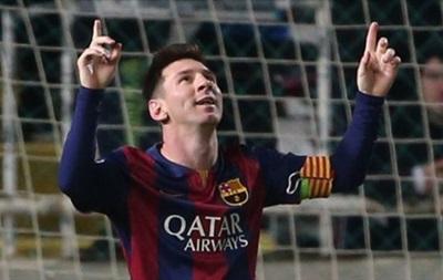Месси установил рекорд по количеству забитых мячей в Лиге чемпионов