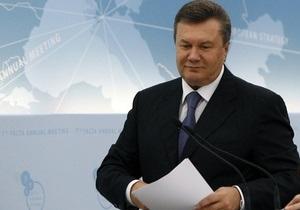 УП: Янукович на ялтинской конференции отвечал на заготовленные вопросы