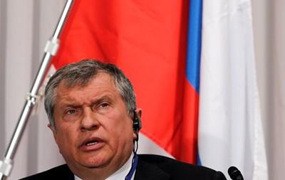 Президент компанії  Роснефть : Ціни на нафту можуть упасти нижче 60 доларів
