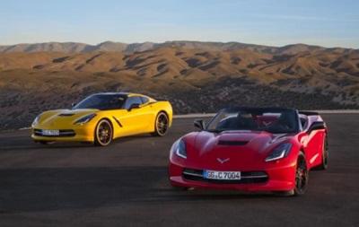 Появились новые фото  заряженной  Chevrolet Corvette