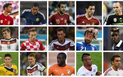 В число лучших полузащитников года FIFA включила четырех испанцев и трех немцев