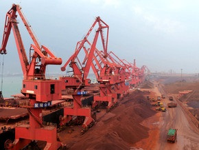 Ъ: Украина увеличивает экспорт железной руды в Китай