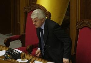 Литвин заявил, что начало новой сессии ВР показало отсутствие коалиции