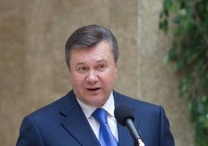 Янукович подписал закон о запрете курения в помещениях и на улицах