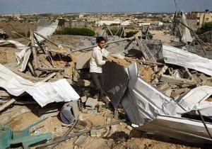 Израиль рассказал о целях налета на Сектор Газа