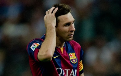 Месси получил удар бутылкой по голове во время матча с Валенсией