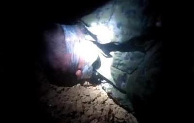 Киборги  сняли на видео допрос пленного сепаратиста