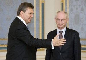 Президент Евросоюза пригласил Януковича в клуб  кому за 60